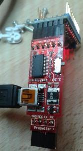 FTDI breakout (USB-serial Adapter)