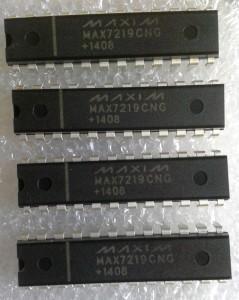 fake Exemplare des Max7219