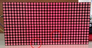 Pixelfehler rot
