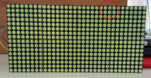 Pixelfehler grün