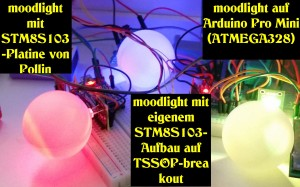 Moodlights in Funktion