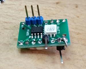 WS2811 Testboard seitlich