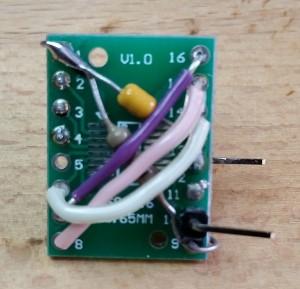 WS2811 Testboard unten