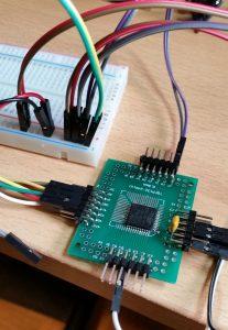 STM8S105 auf Adapterplatine